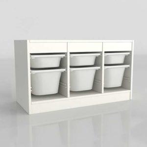 Armario Organizador 3D IKEA Trofast