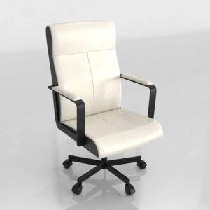 Silla 3D de Escritorio IKEA Millberget Blanco
