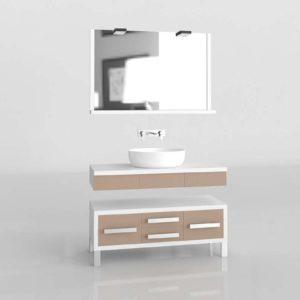 Modelo 3D Baño Zenit