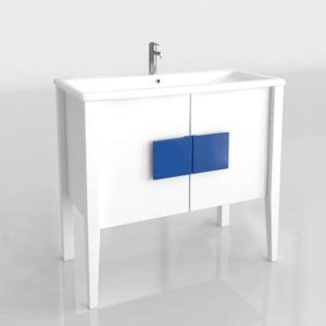 Virgo Bathroom Unit 3D Model