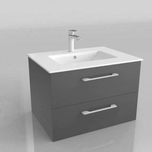 Cabinet w Basin Faucet Bathroom Furniture