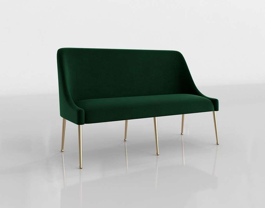 Amazing Elowen Banquette Anthropologie Theyellowbook Wood Chair Design Ideas Theyellowbookinfo