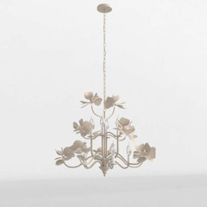 Pearled Magnolia Chandelier Anthropologie