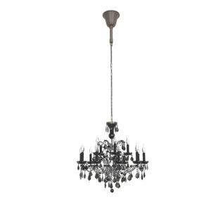 19th Rococo Crystal Chandelier RH Modern