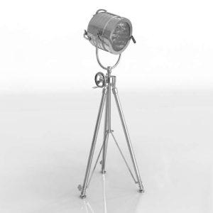 Aluminum Sealight Tripod Floor Lamp Overstock