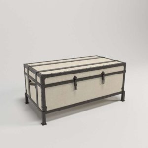 Ludlow Sliding Trunk Coffee Table Pottery Barn