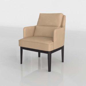 Modelo 3D Sillón Lino