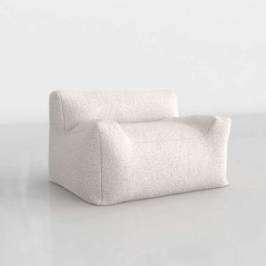 Berlin Lounge Sherpa Chair