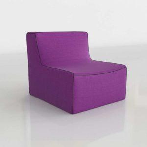 Modelo 3D Sofá Modular Bardot