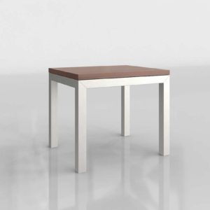 Parsons Top Bas End Table Crate&Barrel