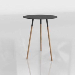 Tri Black Side Table Unison Home