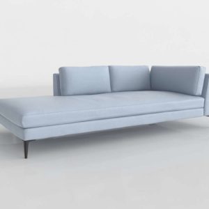 Andes Sectional Piece Lef Arm Terminal Chaise