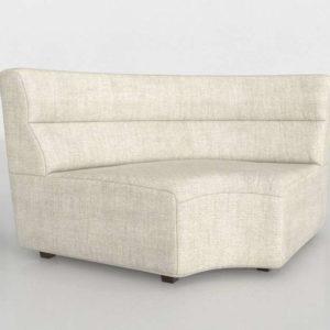 Wedge Chaise Interior Design