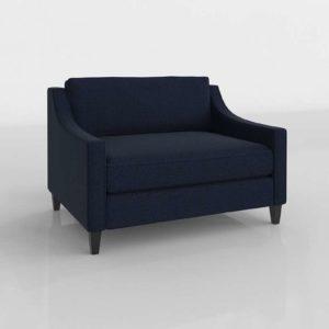 Paidge Chair Sleeper Westel Furniture