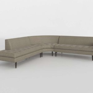 Reese Curved Sectional Roomandboard