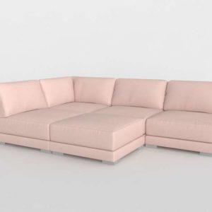 4piece Sectional Sofa CB2