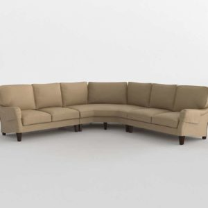 Wedge Sectional Decor
