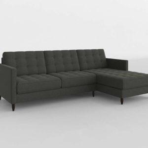 Younger James Sectional Sofa 2BMod