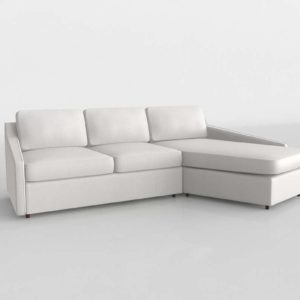 Trapez Chaise Sectional Westelm