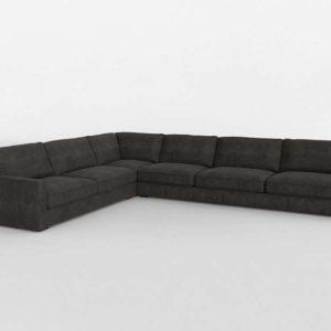 Classic Corner Sectional Inteior Design
