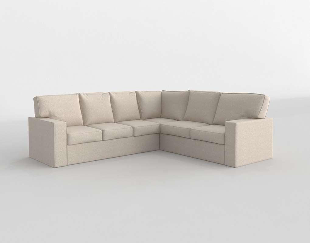 3D-Monaco Sectional Rowe Furniture