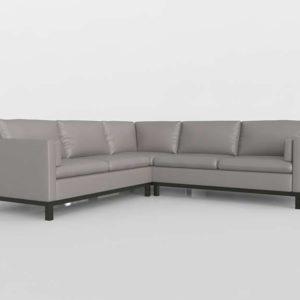 Ventroso Shaped Sectional Sofa Macys 3D