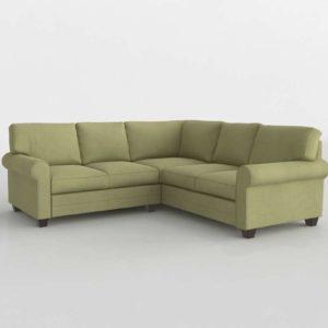 CU 2 L Shaped Bassett Furniture