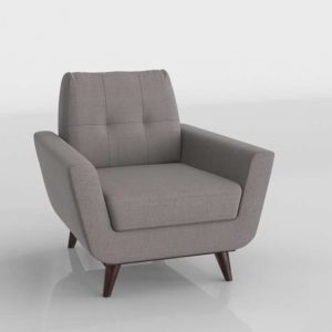 3D Apartment Chair and Sectional Interior Decor