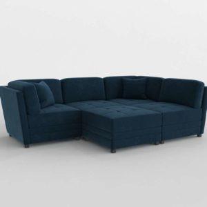 Leyla Modular Sectional Living Room Set Costco