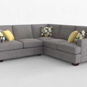 XL L Shaped Sectional Bassett Furniture