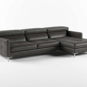 Solid Sectional Allmodern
