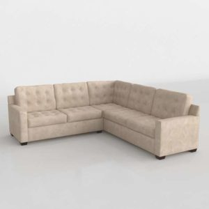 Tribeca Contemporary L Shaped Sectional Sofa Findyour Furniture