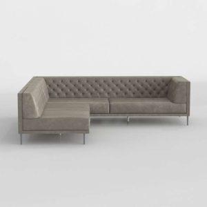 Savile Sectional Sofa CB2