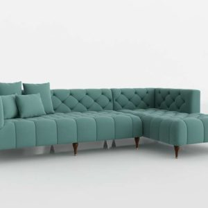 Ms Chesterfield Sectional Interior Define