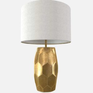 Vince Faceted Lamp Pottery Barn