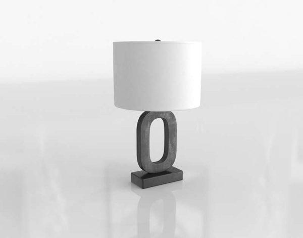Crest Table Lamp Crate&Barrel