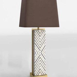 Chevron Deco Table Lamp West Elm