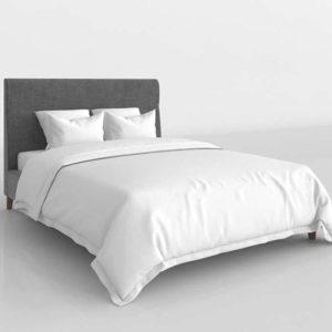 Glancing Eye 3D Model Standard Bed 11