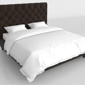 Glancing Eye 3D Model Standard Bed 06