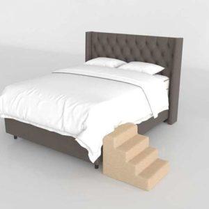Glancing Eye 3D Model Standard Bed 04