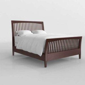 Glancing Eye 3D Model Standard Bed 01