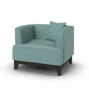 Overstock Furniture of America Emmette Modern Tuxedo Arm Chair
