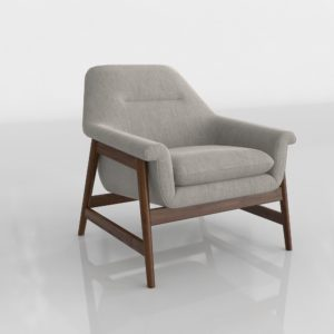 Westelm Theo Show Wood Chair