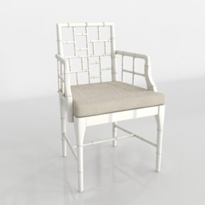 Wisteria Chinese Chippendale Chair