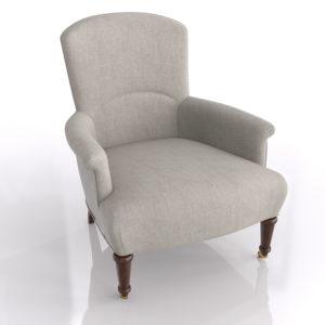 WS Margo Chair Textured Cotton Linen Natural