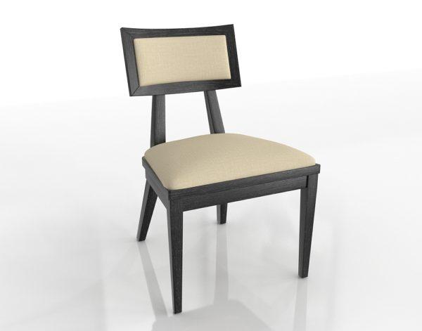 ZincDoor Brownstone Palmer Mink Side Chair