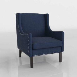 Target Jackson Wingback Chairs In Velvet