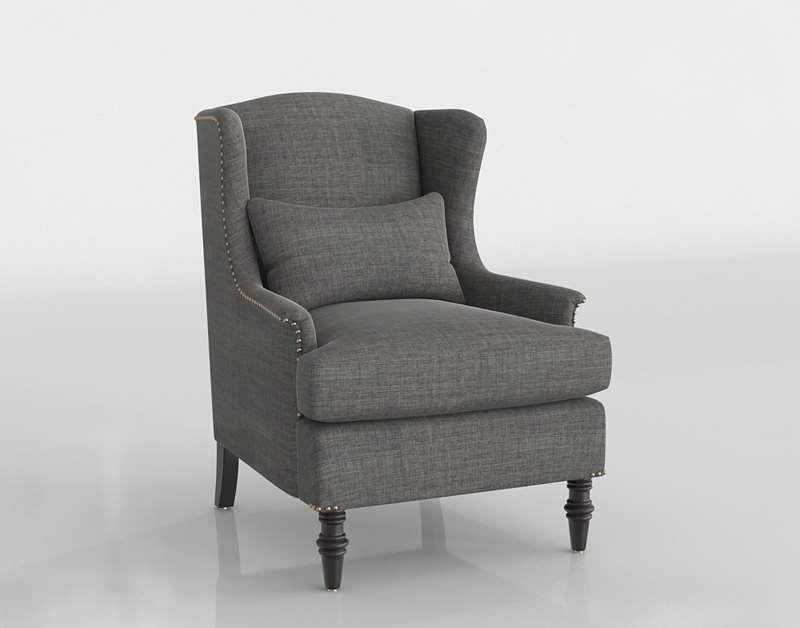 Worldmarket Charcoal Oscar Chair