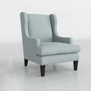 WilliamsSonoma Atherton Chair In Brushed Canvas Mist Grade A