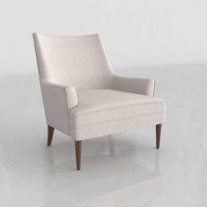 Westelm Mid Century Win Chair Maya Platinum Almond